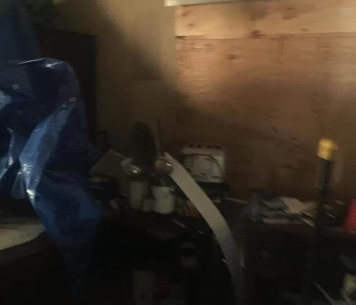 Fire Restoration Clean Up Before