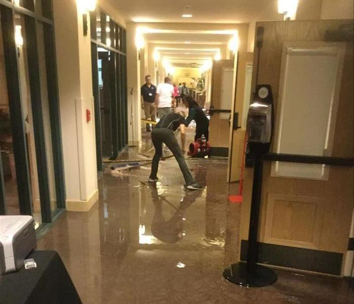 Water Damage at Assisted Living Facility